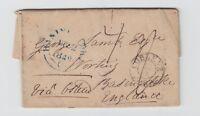Preussen - Vorphila, 1848 - Brief von Koblenz (K2) nach Basingstoke/England !!!