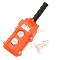 Rainproof Push Button Switch UP-Down For Hoist Crane Pendant Control Statio
