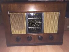1953 Bush AC11 Wood Case Valve Radio Vintage Working