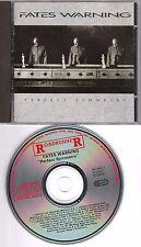 FATES WARNING original CD Perfect symmetry 1989 on Roadrunner please read descr.