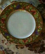 """ANCIENNE MANUFACTURE ROYALE """"BOTTICELLI"""" DINNER PLATE 10.25"""" LIMOGES FRANCE NEW"""