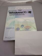 Windows 98 IBM PC Manual with Key Sealed