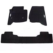 Black Nylon Carpet CFMDX1CH7620 Coverking Custom Fit Rear Floor Mats for Select Chevrolet Uplander Models