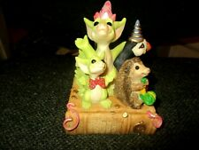 1995/6 Whimsical World Lilliput Real Musgrave Party Time Signed Pocket Dragon
