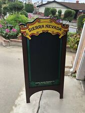 Sierra Nevada Beer Bar A-Frame Chalkboard Man Cave Mirror