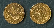 ISLAMIC, Ottoman Empire. Mehmed V Rashad. AH 1327-1336 / AD 1909-1918 GOLD Coin