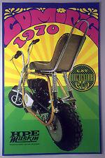 Vintage Mini Bike Print -CAT Eliminator - HPE Muskin