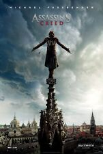"""ASSASSIN'S CREED 2016 Teaser & Original DS 2 Sided 27x40"""" Movie Posters Set Of 2"""