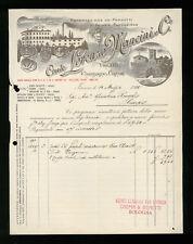 LETTERA COMMERCIALE CONTE LORENZO MANCINI E C. FIRENZE 1905