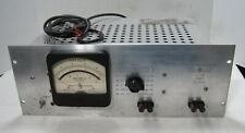 Hewlett Packard Model 400hr Vacuum Tube Voltmeteraluminum Face
