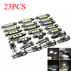 23pc LED Canbus Car Interior Inside Light Dome Trunk Map License Plate Lamp Bulb  for sale