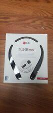 New listing Lg Tone Pro Bluetooth Headset (Hbs-780) Black New!