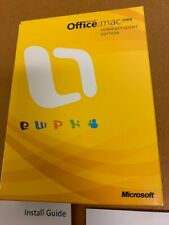 Microsoft Office 2008 Home and Student Edition for Mac