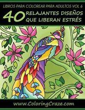 Libros para Colorear para Adultos de ColoringCraze, Páginas para Colorear...
