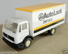 MICRO WIKING HO 1/87 CAMION MB MERCEDES LP 1017 ICI AUTO LACK SERVICE b