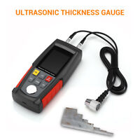 WT100A Digital Smart Sensor Ultrasonic Thickness Gauge Sound Velocity LCD Tester