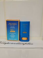 SHISEIDO  Ginza Tokyo Clear Stick UV Protector 50+ Wetforce Broad Spectrum 15g