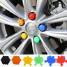 20pcs Car Wheel Lug Bolt Nut Cap Valve Stem Cover Silicone Sleeve Screw Antirust
