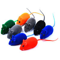 1pcs Rat Year Squeaky Sound False Mouse For Teases Cat Puppy Trainer Sound  JCA