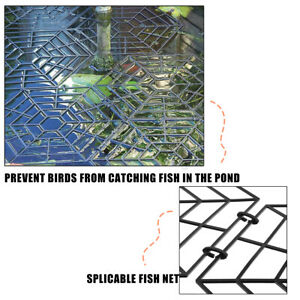 Teich Schutz Schwimmende Abdeckung Netz Wasser Fisch Gitter Katze Reiher
