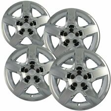 "4pc Hubcaps 17"" Chrome Impact Resistant ABS Snap On Replacement Wheel Cover"