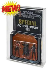 GW Acrylic Display CASE (only) for Modern 3 Packs - Target Exclusives & Dr Aphra
