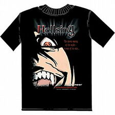 Hellsing Japanese Anime Series Fangs Adult T-Shirt Size XL, NEW UNWORN