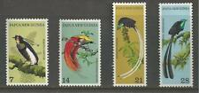 PAPUA NEW GUINEA # 365-368 MNH TROPICAL PARADISE BIRDS