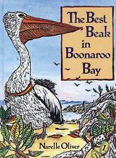 Narelle Oliver THE BEST BEAK IN BOONAROO BAY large pb SIGNED Australian birds