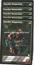 Chandler Hungerford x5 Gangrel DS VTES Jyhad