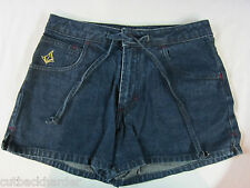 VOLCOM SKIRT Jeans Denim Blue Ladies Juniors Travelite SIZE 5 NEW made in USA