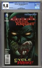 Batman The Dark Knight #10 CGC 9.8 (2012) David Finch Cover Highest Graded