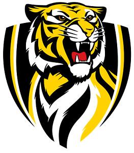 Sticker - AFL Richmond Tigers Logo (Big)