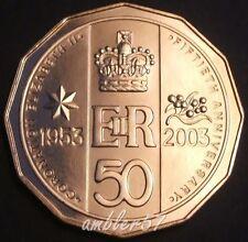 **2003 Scarcer Australian Coronation 50cent UNC**