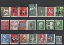 Germany Bund BRD Jahrgang yearset 1958 postfrisch ** MNH komplett complete