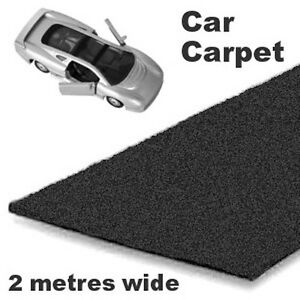 Black Car Carpet. Good quality as fitted to many new vehicles, choice of sizes