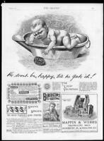 1888 Antique Print - ADVERTISING Pears Soap Mappin Webb Benedictin Soden (171)