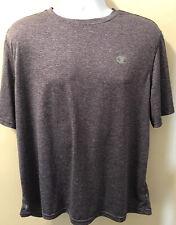 Champion Men's Vapor T-Shirt, Purple Stripe, Size Xl