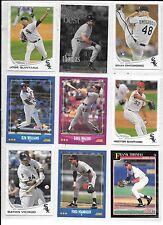 Jose Quintana plus 8 more White Sox baseball card lot.