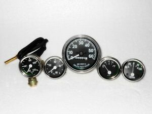 Willys MB Jeep Ford GPW CJ Speedometer Temp Oil Fuel Amp Gauges