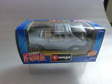 1:43 Burago Land Rover Freelander hellblau metallic in OVP (SK09)