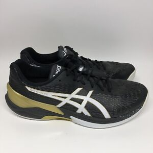 ASICS Volleyball Men's Shoes SKY ELITE FF Low 1051A031 Black Size 13