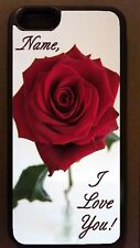 I LOVE YOU RED ROSE romantic gift idea CELL PHONE CASE celphone cover for mobile