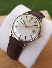 Omega Solid 9k Vintage Mens Watch, Fully Serviced + Warranty, Cal 611