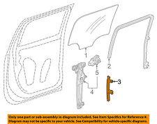 GM OEM Glass-Rear Door-Rear Guide Right 84010827