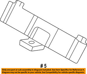 FORD OEM-Horn Switch F5TZ13A875BD