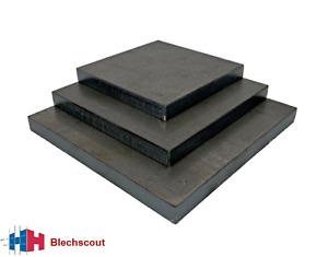 Stahlplatte Ankerplatte Blechplatte von 100-600 mm und St/ärken von 5-30 mm 120x120x20