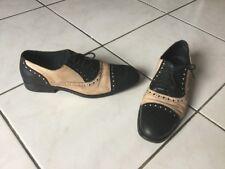 Derby ZADIG & VOLTAIRE pointure 40 cuir beige /noir