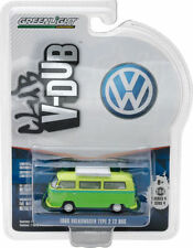 GREENLIGHT VOLKSWAGEN TYPE T2 bus 1968 vert 29860e 1/64