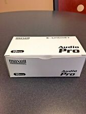 Maxell Professional Audio Pro DAT R-125DA  (P)- Box of 10